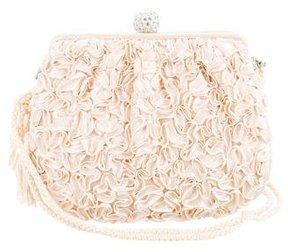 Judith Leiber Embellished Satin Bag