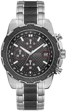 GUESS Black Stripe Sport Watch