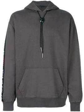 Alexander Wang Your Ad Can Go Here panel hoodie