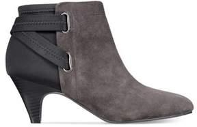 Alfani Womens Vandela2 Leather Closed Toe Ankle Fashion Boots.