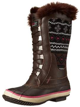 Western Chief Women's Speed Lace Knit Snow Boot.