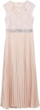 Speechless Girls 7-16 Rhinestone Waist Chiffon Maxi Dress