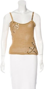 Christian Lacroix Bead-Embellished Knit Top