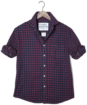 Frank And Eileen Mens Luke Italian Flannel Plaid Shirt