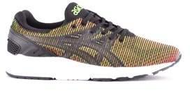 Asics Men's Green Fabric Sneakers.
