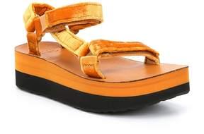 Teva Flatform Universal Velvet Platform Sandal