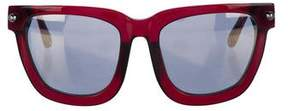 Alexander Wang Tinted Wayfarer Sunglasses