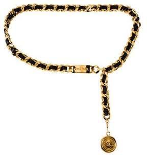Chanel Vintage Medallion Chain Belt