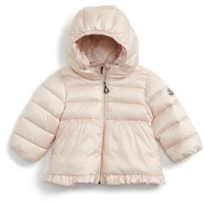 Moncler Infant Girl's Odile Hooded Water Resistant Down Jacket