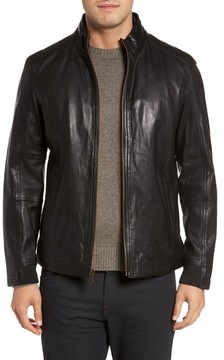 Cole Haan Men's Washed Leather Jacket