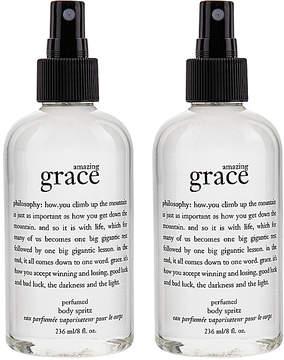 philosophy Amazing Grace Body Spritz 8 oz. - Set of Two