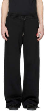 Alexander McQueen Black Dancing Skeleton Lounge Pants