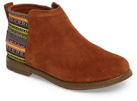 Toms Girl's Deia Mixed Media Bootie