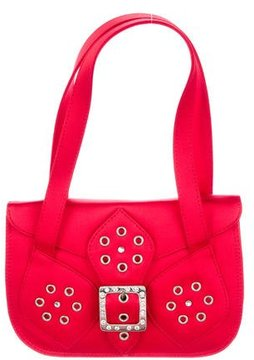 Versus Grommet-Embellished Handle Bag