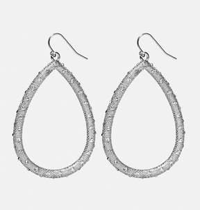 Avenue Textured Stone Teardrop Earrings