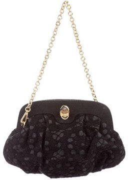 Dolce & Gabbana Lace Evening Bag - BLACK - STYLE