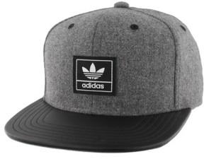adidas Men's Trefoil Plus Snapback Baseball Cap - Grey