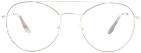Prada Round-frame metal glasses