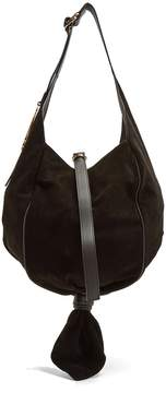 J.W.Anderson Knot suede hobo bag
