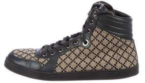 Gucci Diamante High-Top Sneakers