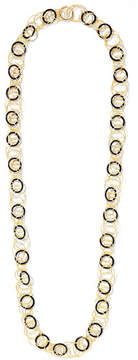 Buccellati Hawaii 18-karat Gold Onyx Necklace