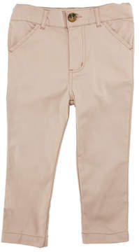 Andy & Evan Twill Straight-Leg Pants, Size 3-24 Months