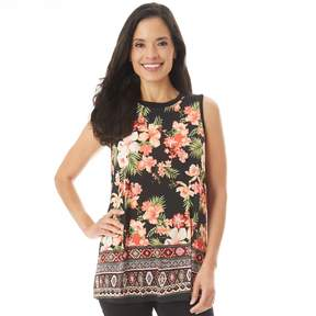 Apt. 9 Women's Printed Swing Tank