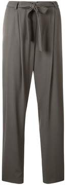 Fabiana Filippi belted waist tapered trousers