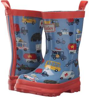 Hatley Rush Hour Rain Boots Boys Shoes