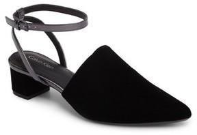 Calvin Klein Women's Ginetta Ankle Strap Pump
