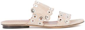 Derek Lam scalloped sandals