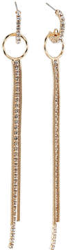 Fragments for Neiman Marcus Crystal Hoop & Fringe Earrings