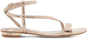 Dune Strappy metallic sandals