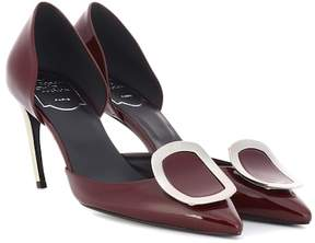 Roger Vivier Dorsay Sexy Choc patent leather pumps