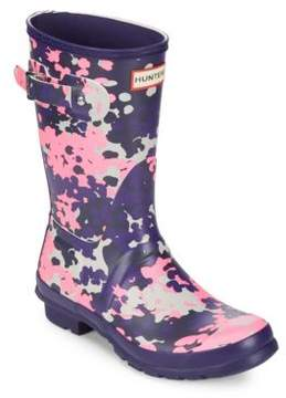 Hunter Short Flectarn Camo Rain Boot