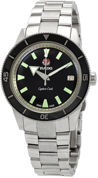 Rado HyperChrome Captain Cook Automatic Black Dial Men's Watch