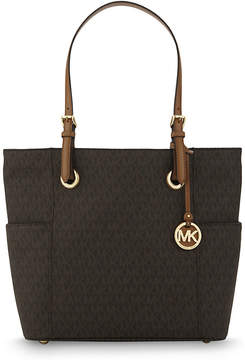 MICHAEL Michael Kors Jet Set Item tote - BROWN - STYLE