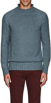 Loro Piana Men's Cashmere Mock-Turtleneck Sweater