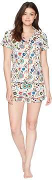BedHead Short Sleeve Classic Shorty Set Women's Pajama Sets