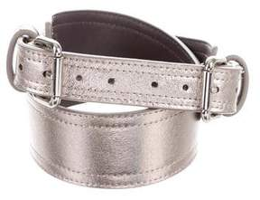 Zac Posen Metallic Waist Belt