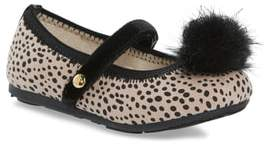Stuart Weitzman Fannie Cheetah Faux Fur Mary Jane