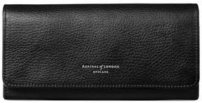 Aspinal of London Lottie Purse In Black Pebble