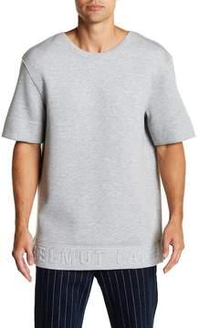Helmut Lang Oversized Embossed Logo Tee