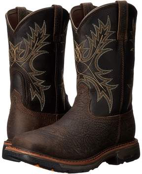 Ariat Workhog Wide Square Toe H20 Cowboy Boots