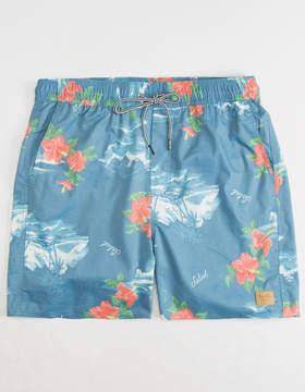 Brixton Havana Mens Swim Trunks