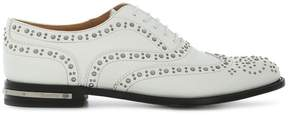 Church's studded lace-up brogues
