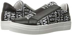 Fendi Kids - Word Print Slip-On Sneakers Boy's Shoes