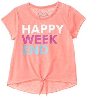 Chaser Girls' Happy Weekend T-Shirt