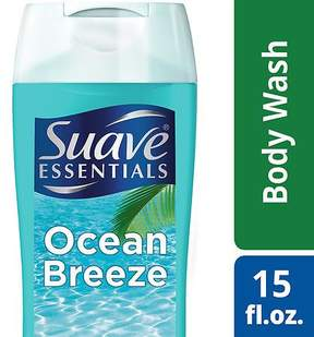 Suave Essentials Body Wash Ocean Breeze