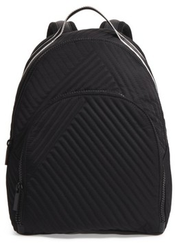 Kendall + Kylie Jo Quilted Nylon Backpack - Black